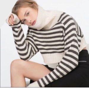 Women's Zara Striped Knitted Sweater